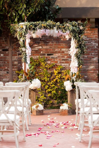 Outdoor Wedding Area | Hotel Corque