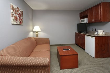 Living Room | New Victorian Inn & Suites in Sioux City, IA