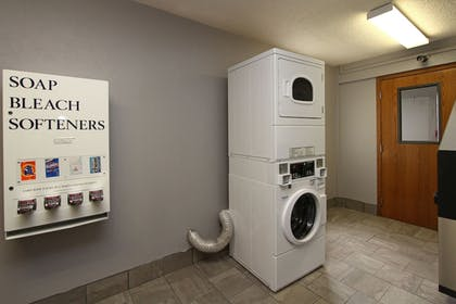 Laundry Room | New Victorian Inn & Suites in Sioux City, IA