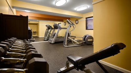 Fitness Facility | Best Western Executive Suites