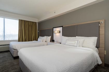 Guestroom | SpringHill Suites by Marriott Charlotte Concord Mills Spdwy