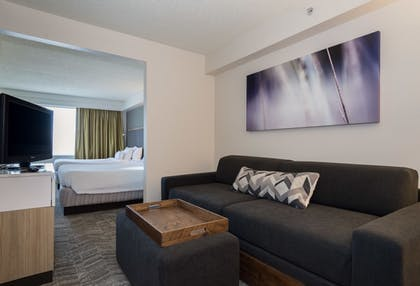 Living Area | SpringHill Suites by Marriott Charlotte Concord Mills Spdwy