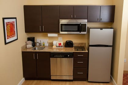 In-Room Kitchenette | TownePlace Suites by Marriott Lake Jackson Clute