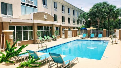 Pool | Holiday Inn Express Hotel & Suites Jacksonville South I-295