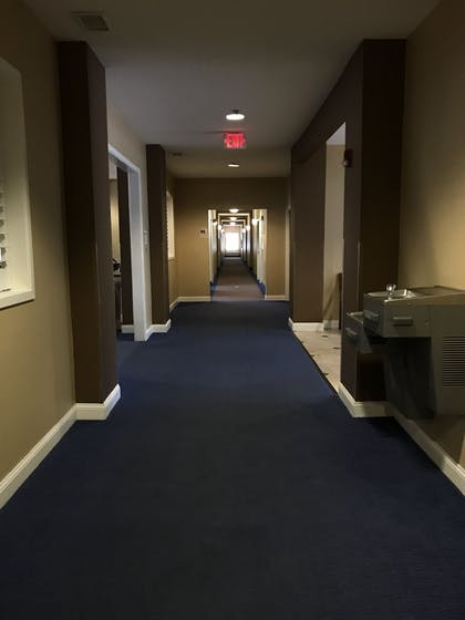 Hallway   Quality Inn & Suites Sneads Ferry - North Topsail Beach