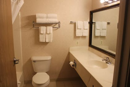 Bathroom | Comfort Inn Conference Center Tumwater - Olympia
