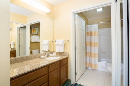 Bathroom | Residence Inn Spokane E Valley