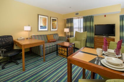 Living Area | Residence Inn Spokane E Valley