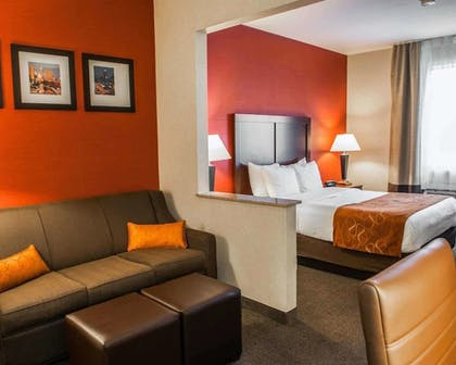 Room | Comfort Suites NE Indianapolis Fishers