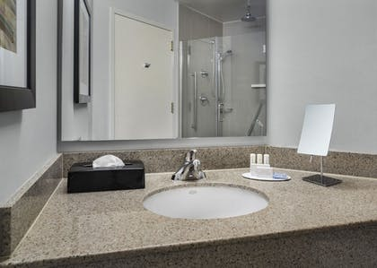 Bathroom | Courtyard by Marriott Charlotte City Center