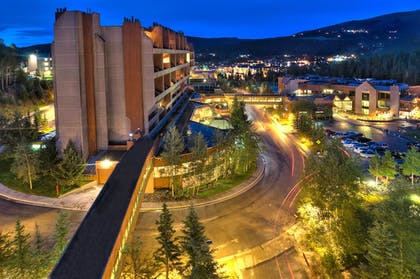 Hotel Front - Evening/Night | Beaver Run Resort & Conference Center