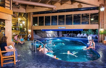 Indoor/Outdoor Pool | Beaver Run Resort & Conference Center