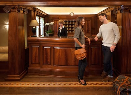 Check-in/Check-out Kiosk | Hotel Drisco