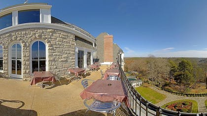Terrace/Patio | The Crescent Hotel and Spa