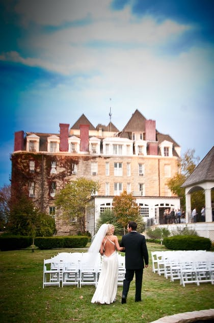 Outdoor Wedding Area | The Crescent Hotel and Spa