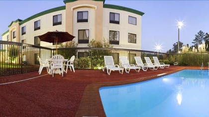 Outdoor Pool | Holiday Inn Express Fort Bragg