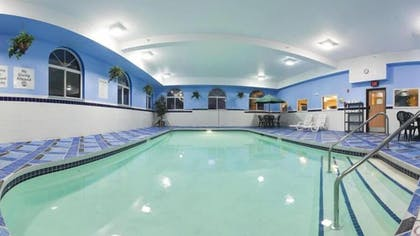 Indoor Pool | Holiday Inn Express Deforest