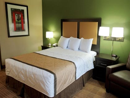 Guestroom | Extended Stay America - Raleigh - RDU Airport