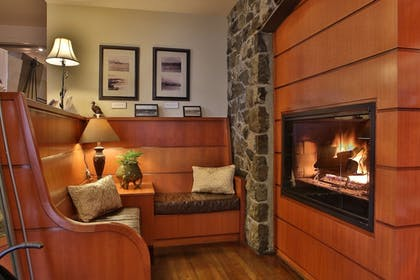 Fireplace | The Resort at Port Ludlow