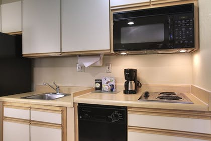 In-Room Kitchen | Larkspur Landing Hillsboro - An All-Suite Hotel