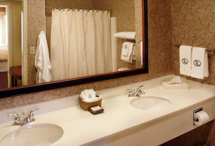 Bathroom | Larkspur Landing Hillsboro - An All-Suite Hotel