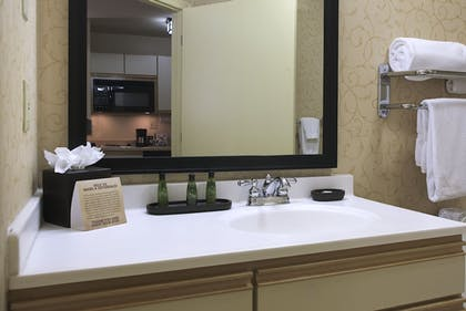 Bathroom Sink | Larkspur Landing Hillsboro - An All-Suite Hotel