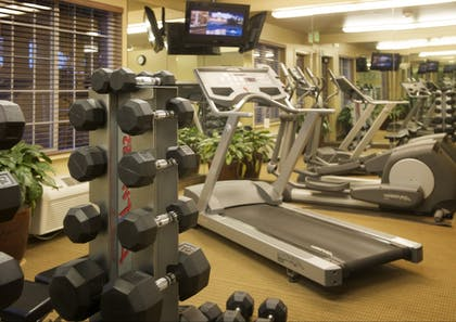 Fitness Facility | Larkspur Landing Hillsboro - An All-Suite Hotel
