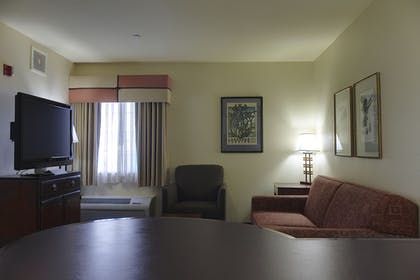 Living Area | Larkspur Landing Hillsboro - An All-Suite Hotel