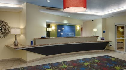 Reception | Holiday Inn Express Hotel & Suites Saginaw