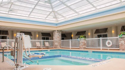 Pool | Holiday Inn Express Hotel & Suites Saginaw