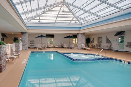 Indoor Pool | Holiday Inn Express Hotel & Suites Saginaw