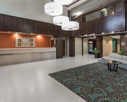 Lobby      Comfort Suites Houston West at Clay Road