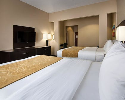 Guestroom      Comfort Suites Houston West at Clay Road