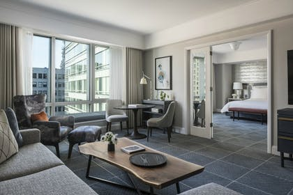 | One-Bedroom Suite | Four Seasons Hotel San Francisco