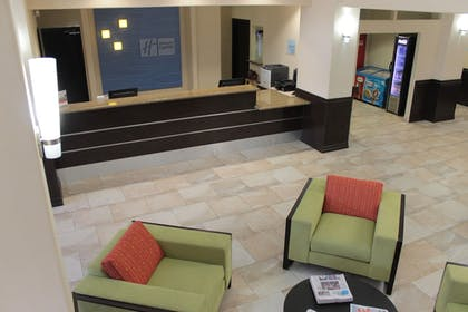 Reception | Holiday Inn Express Hotel & Suites Brownsville