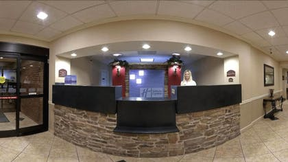 Reception | Holiday Inn Express & Suites Manchester