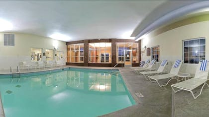 Indoor Pool | Holiday Inn Express & Suites Manchester
