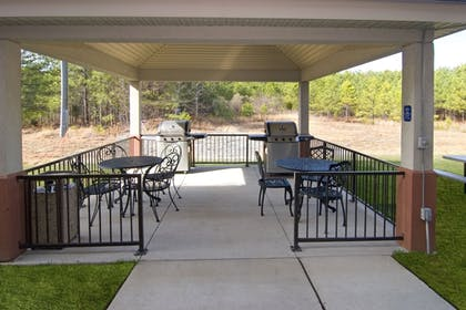 BBQ/Picnic Area | Candlewood Suites Hopewell