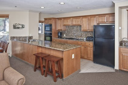In-Room Kitchen | The Ridge Tahoe