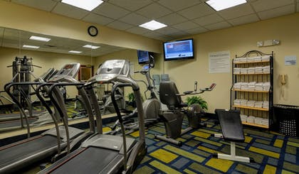 Fitness Facility | Holiday Inn Express & Suites Midwest