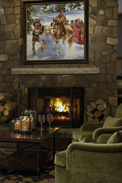 Fireplace | The Charter at Beaver Creek