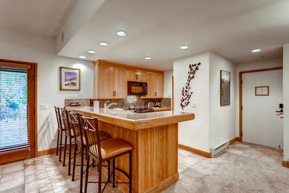 In-Room Kitchen | The Charter at Beaver Creek