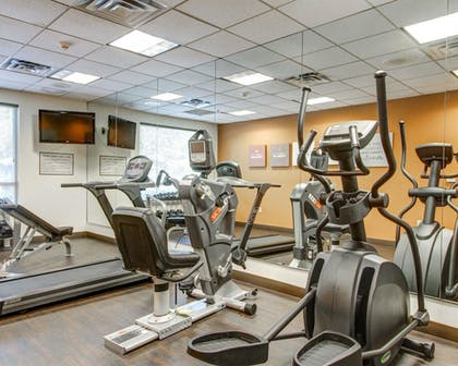 Fitness Facility | Comfort Suites Weston - Sawgrass Mills South