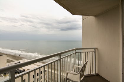 Balcony | Bay Watch Resort & Conference Center by Oceana Resorts