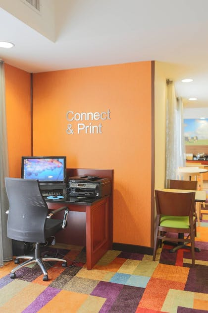 Business Center | Fairfield Inn & Suites Lexington Berea