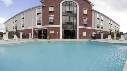 Outdoor Pool | Holiday Inn Express Hotel & Suites Morehead Cty