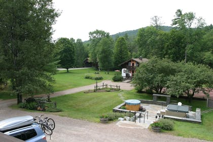 View from Hotel | Innsbruck Inn at Stowe