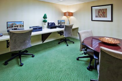 Business Center | Holiday Inn Express Hotel & Suites Greenville