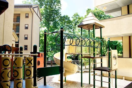 Childrens Play Area - Outdoor | Gatlinburg Town Square by Exploria Resorts