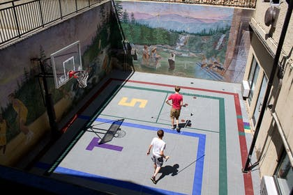 Basketball Court | Gatlinburg Town Square by Exploria Resorts
